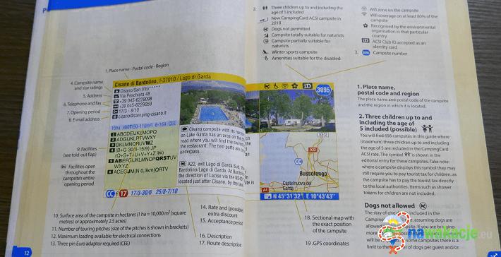 karta ACSI katalog
