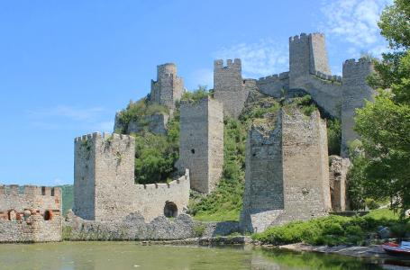 Zamek Golubac, twierdza, w której zginął Zawisza