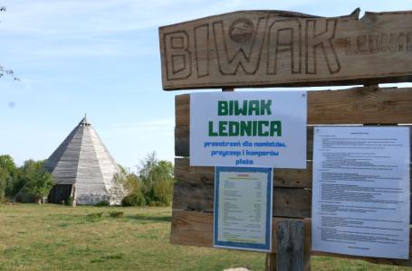 Biwak Lednica – azyl pośrodku Wielkopolski