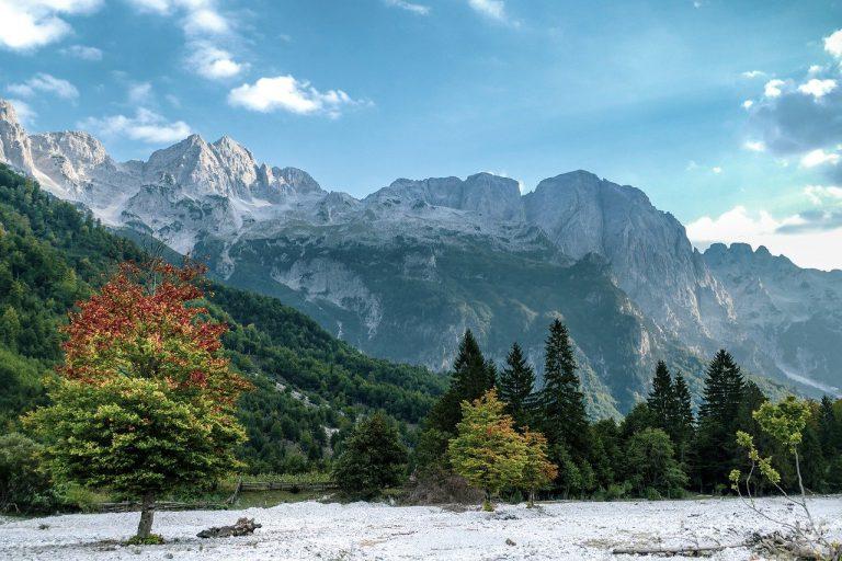 albańska zima