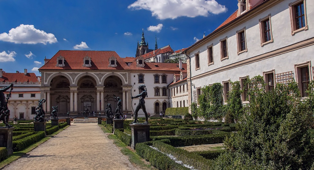 Praga, ogrody królewskie
