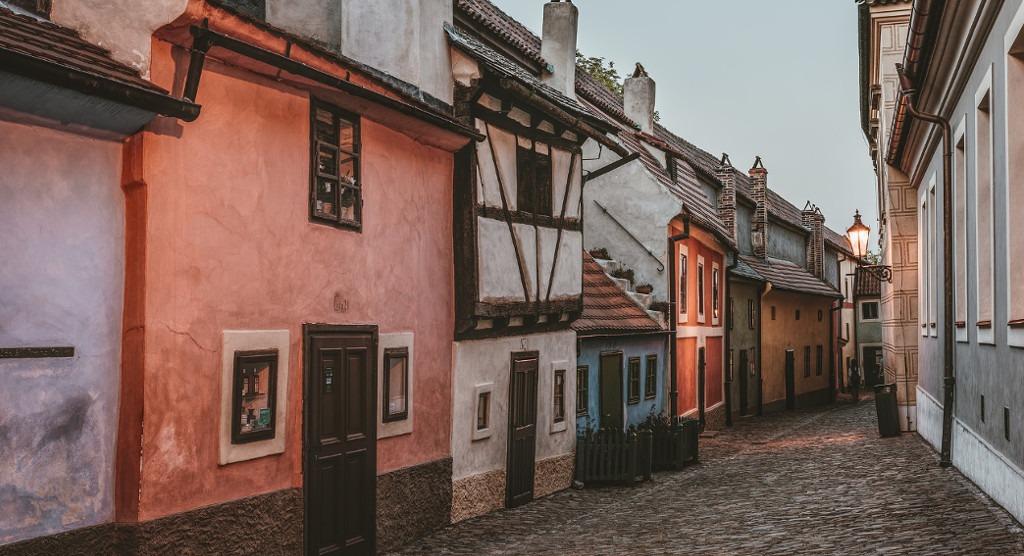 Praga w jeden dzień - złota uliczka