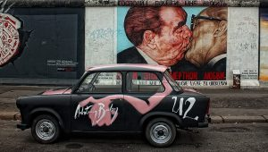 samochodem do berlina