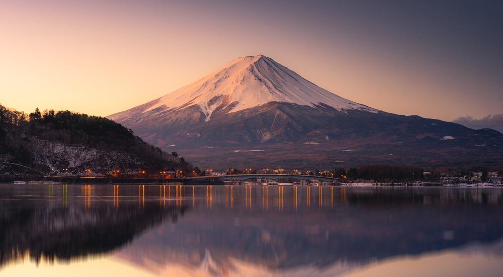 najwyższy szczyt japonii