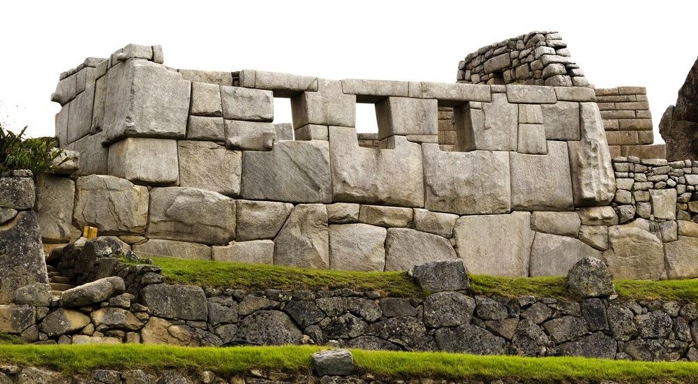 maczu pikczu - świątynia trzech okien