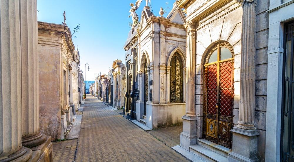 Cmentarz Recoleta - Buenos Aires