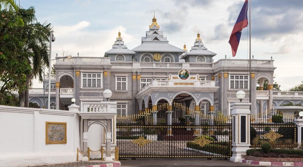 stolica laosu - pałac prezydencki