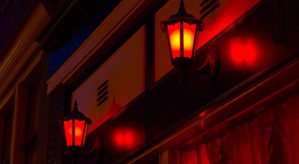 amsterdam czerwona ulica
