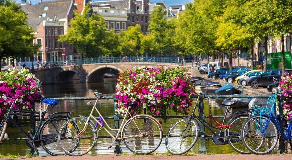 amsterdam rowery