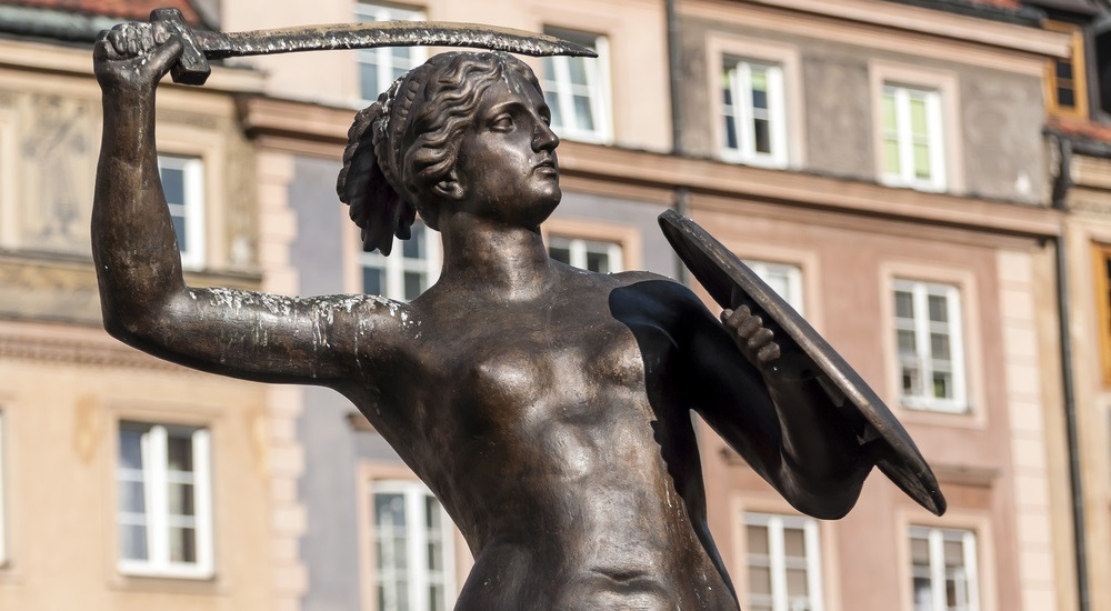 legenda o syrence warszawskiej