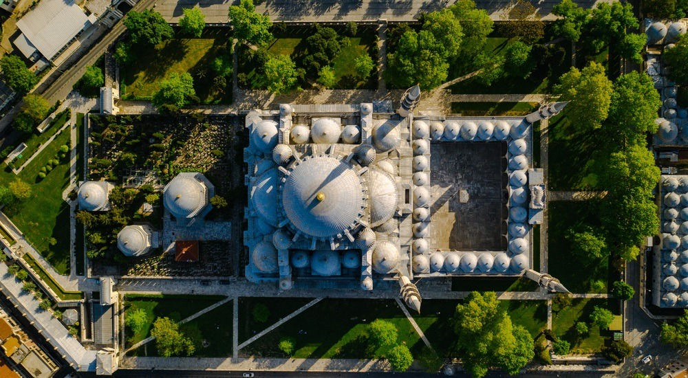 meczet sulejmana pochowane osoby