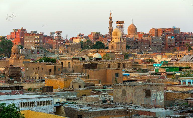 miasto umarłych kair