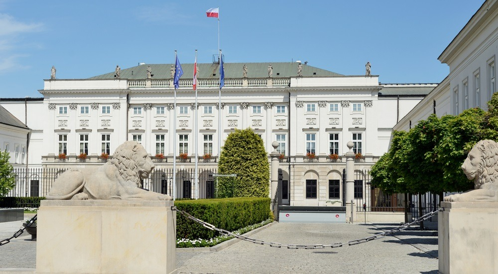 pałac prezydencki warszawa
