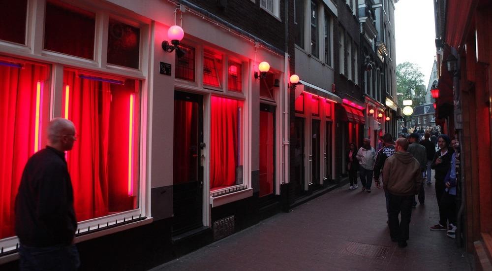 ulica czerwonych latarni