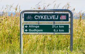 bornholm rowerem