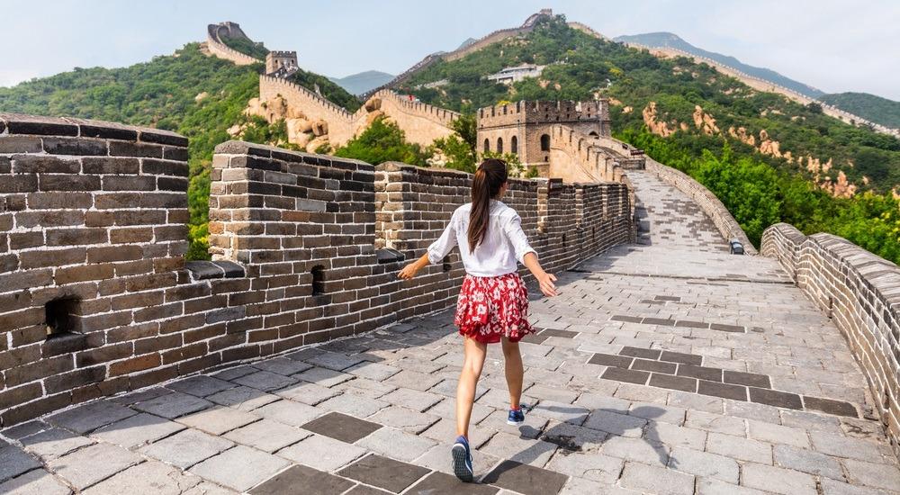 koniec muru chińskiego