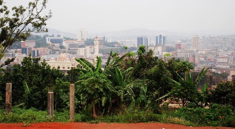 stolica ugandy - panorama