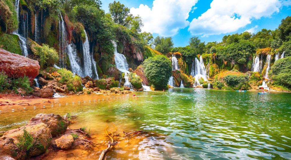 bośnia i hercegowina wodospady