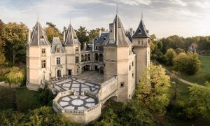 zamek w gołuchowie