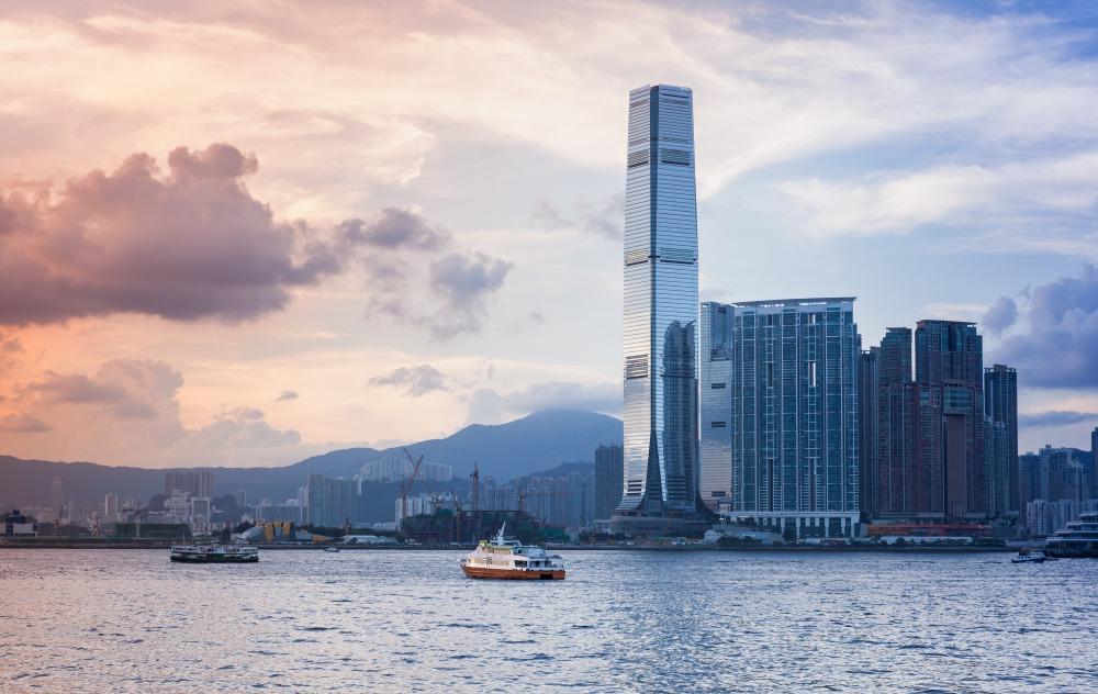 hong kong najwyższy budynek