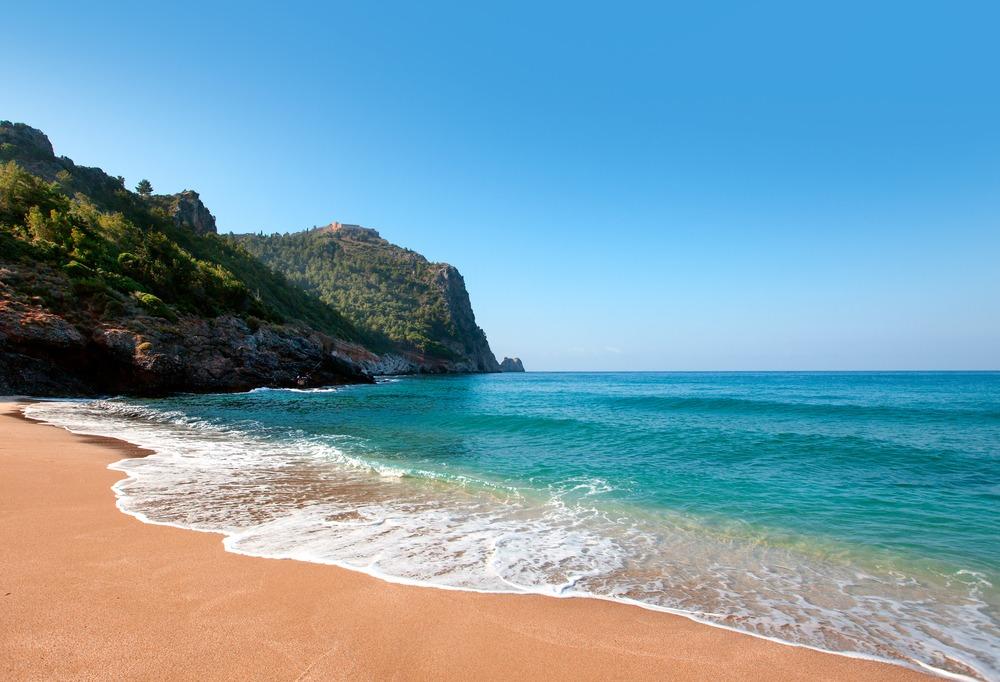 plaża kleopatra turcja