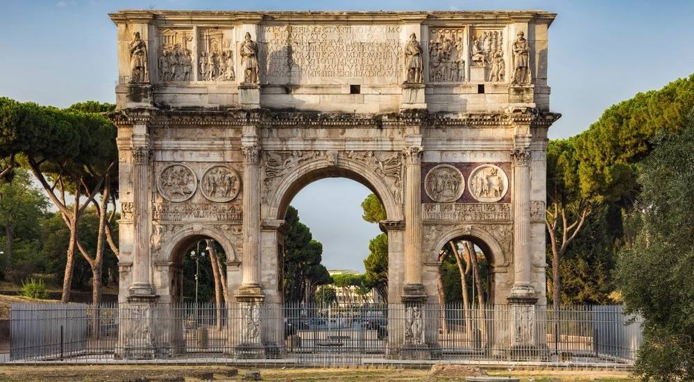 łuk konstantyna wielkiego