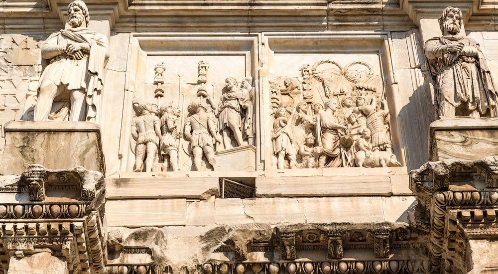 łuk triumfalny w rzymie
