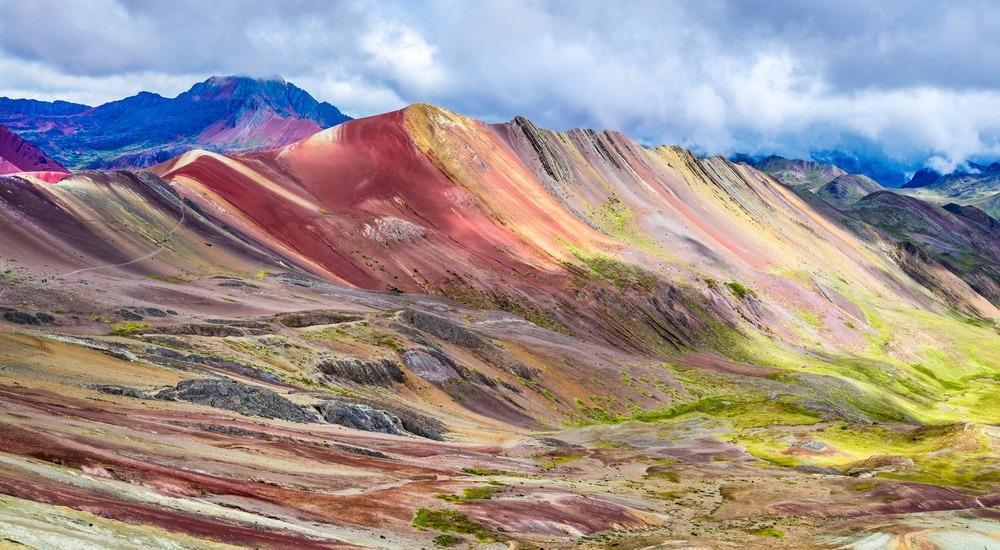 tęczowa góra peru