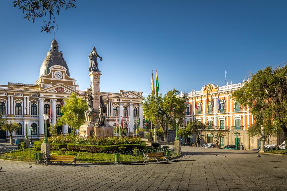 siedziba rzadu boliwii