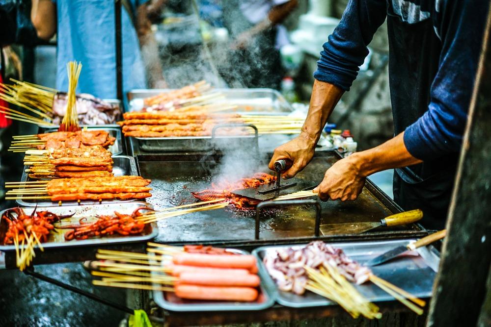Szanghaj market