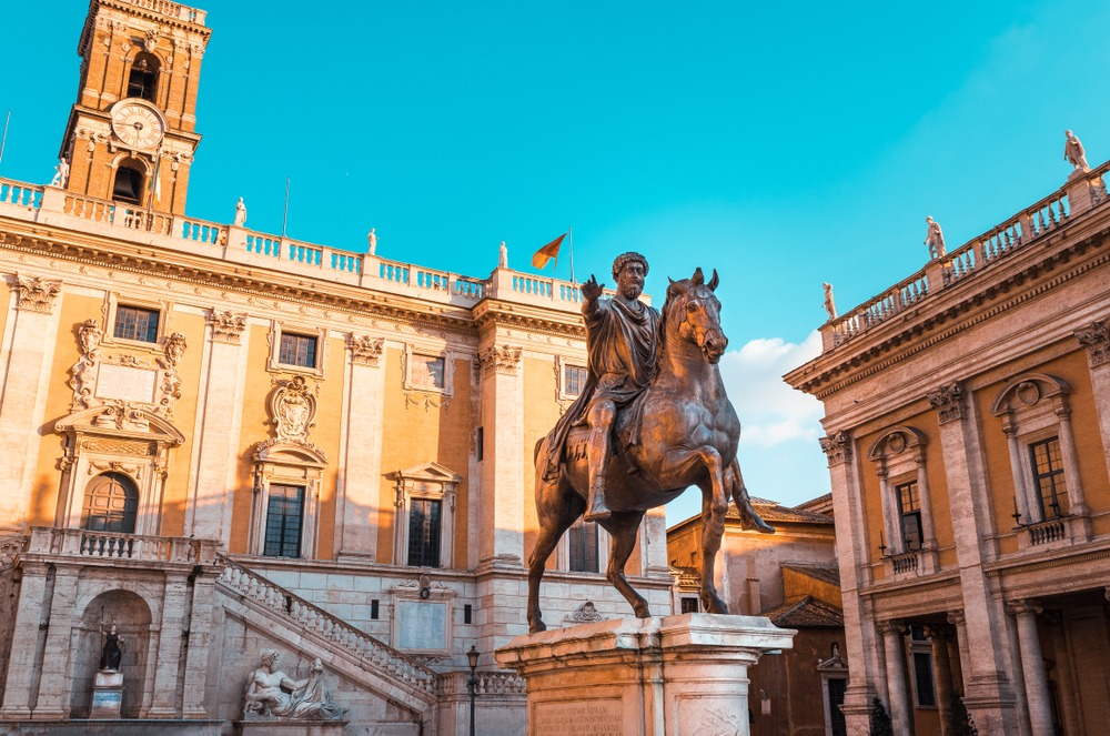 pomnik Marka Aureliusza