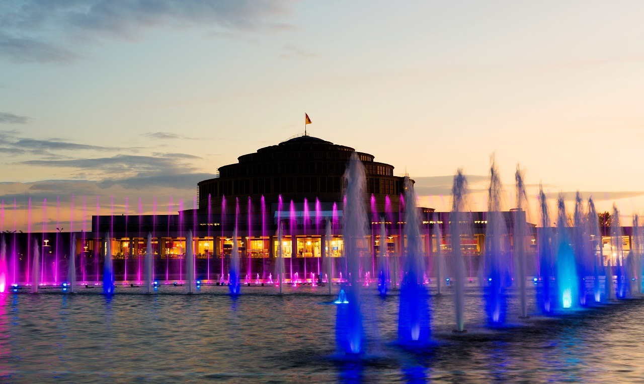 wroclawska fontanna