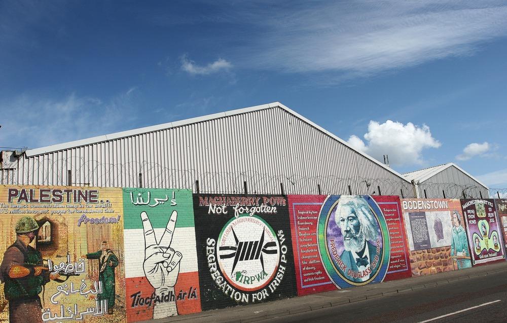 Belfast Murale