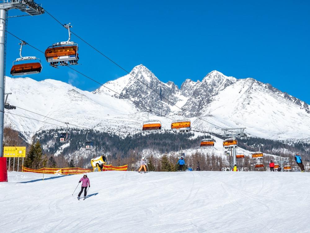 Białka Tatrzańska Trasy narciarskie