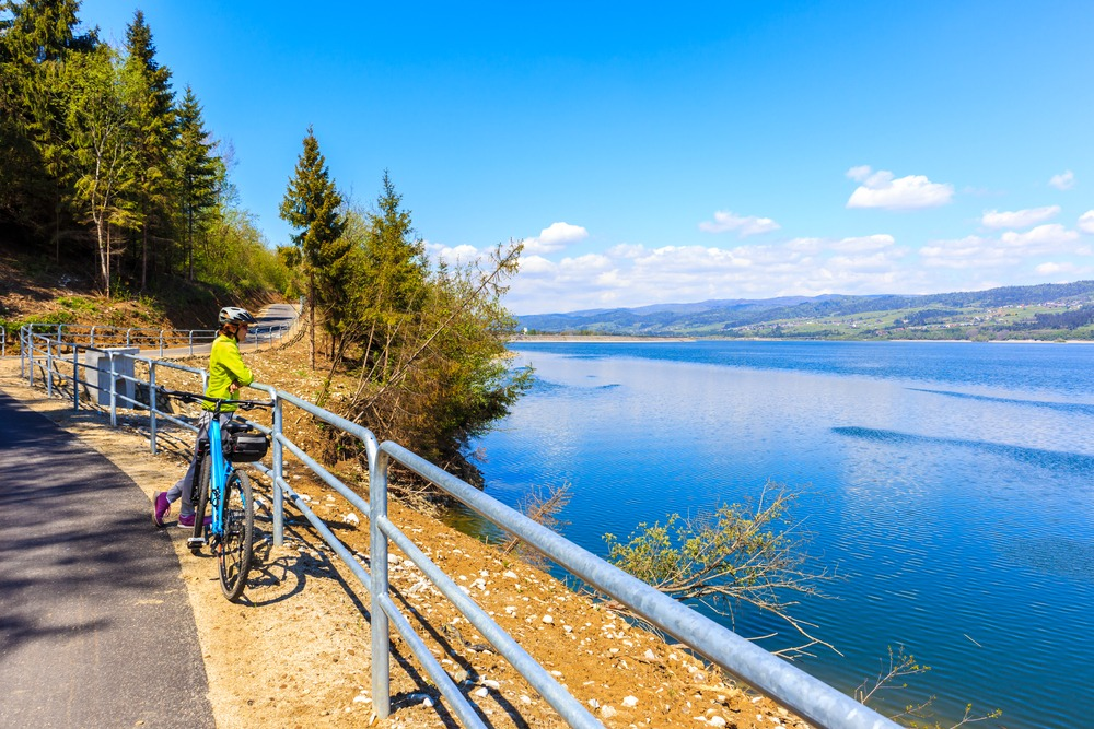 Białka tatrzańska trasy rowerowe
