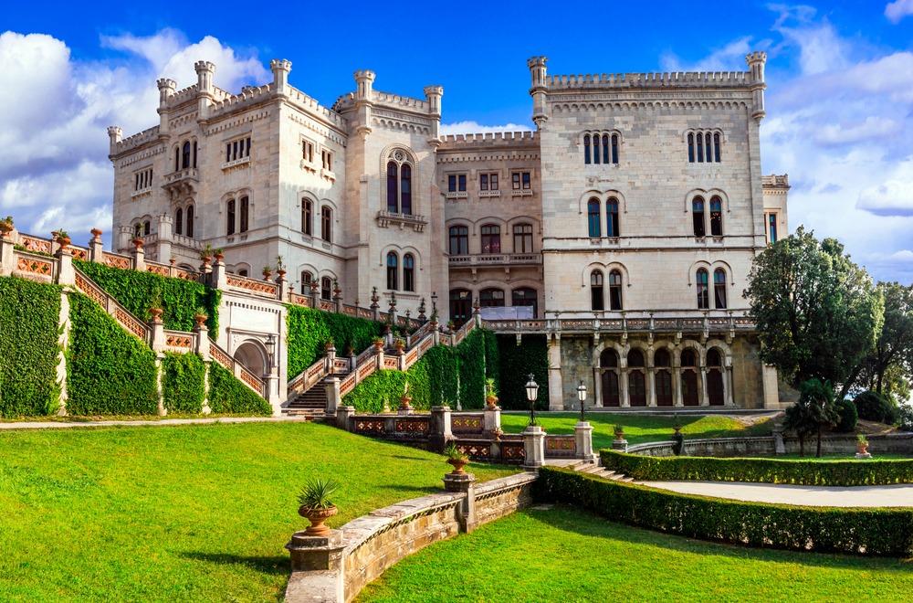 Zamek Miramare (Castello di Miramare)