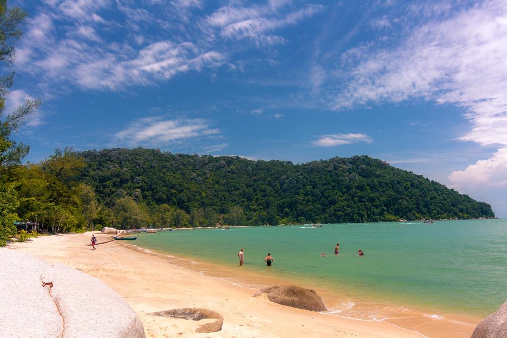 malezja penang monkey beach