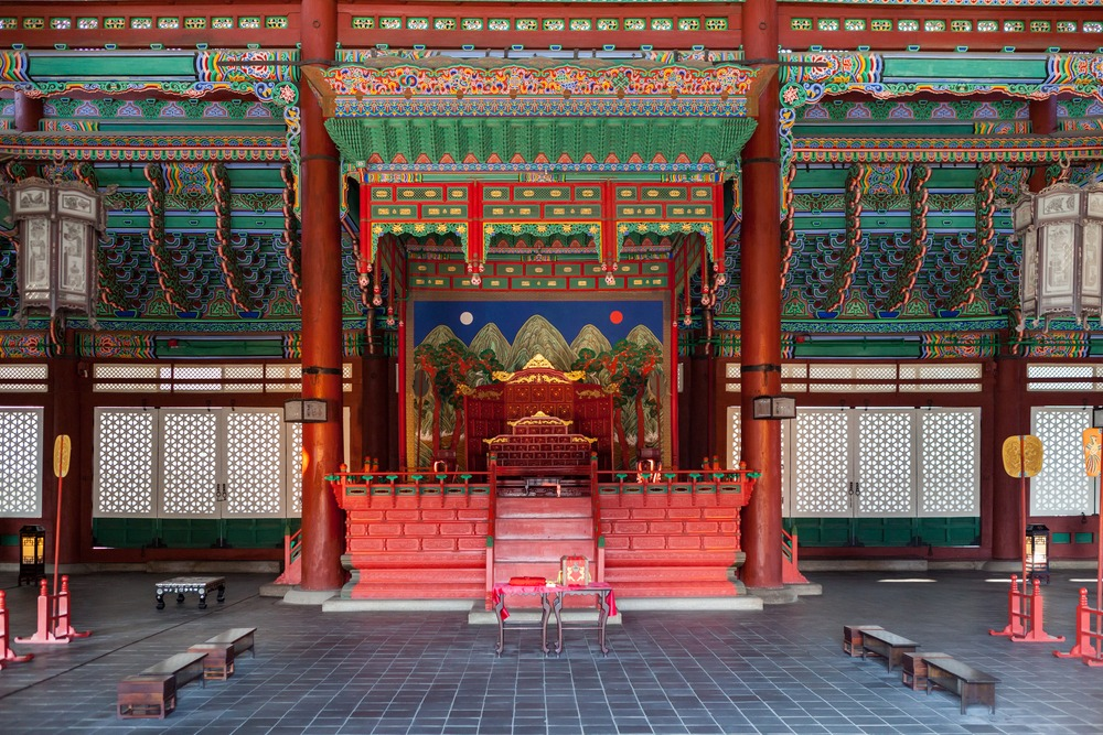 sala tronowa gyeongbokgung