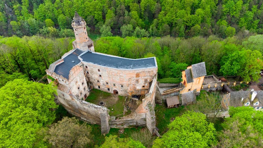 zamek grodno historia
