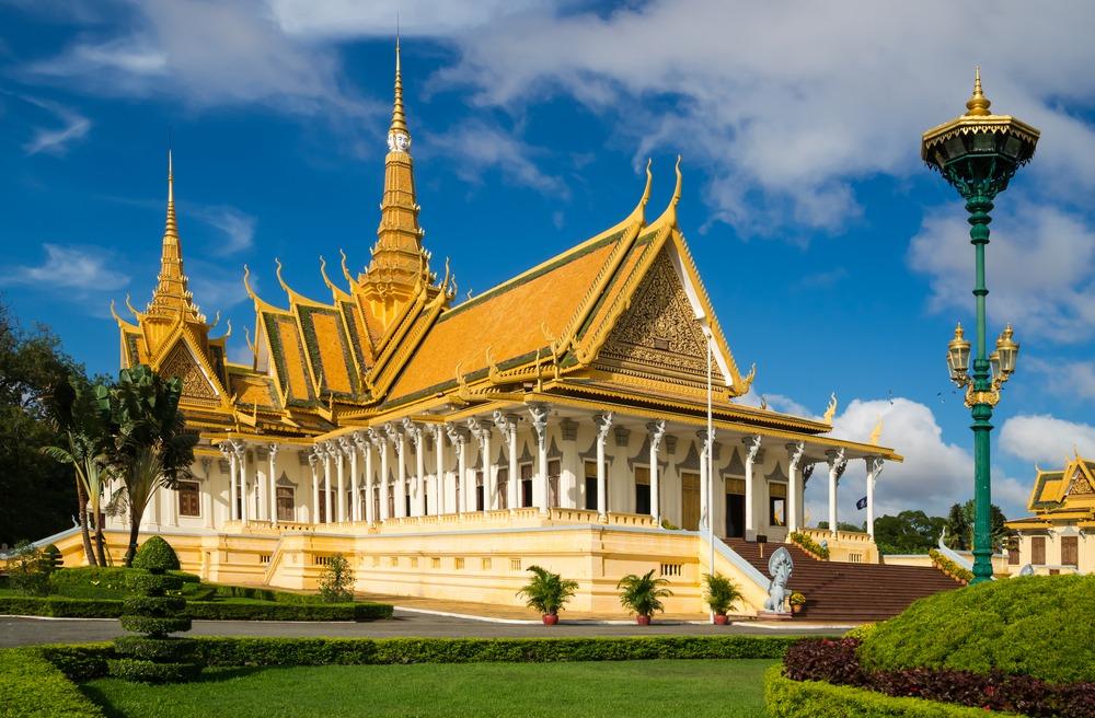 Pałac królewski kambodża