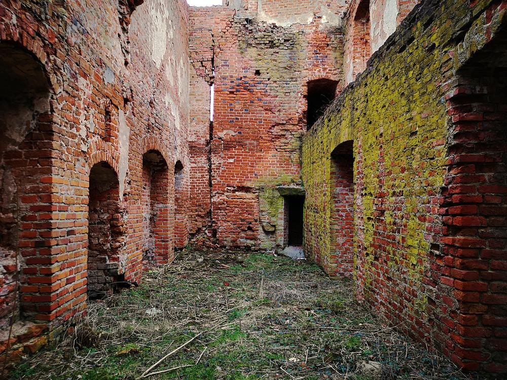Ruiny zamku Szymbark