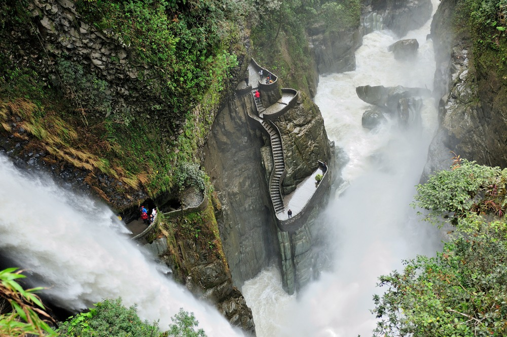 wodospady ekwador
