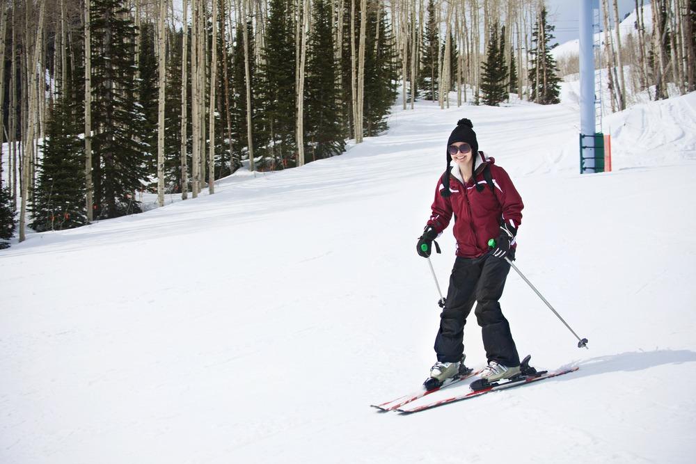Nauka jazdy na nartach, Mazury