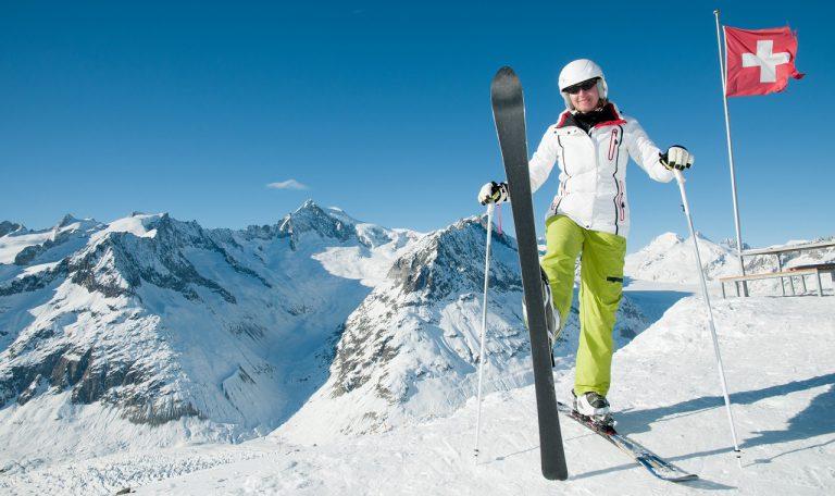 narty w szwajcarii